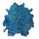 Tapis HUNTER Bleu / Or ? 1,35m2 - 1,65m2