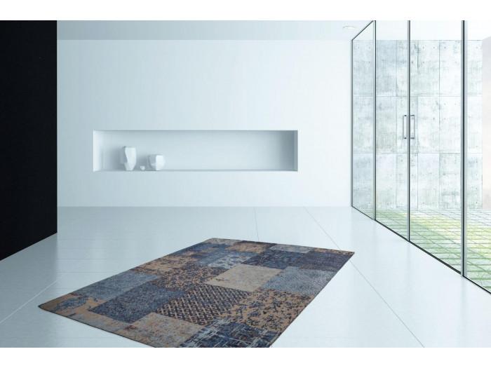 Tapis RIVKA Bleu 120cm x 180cm