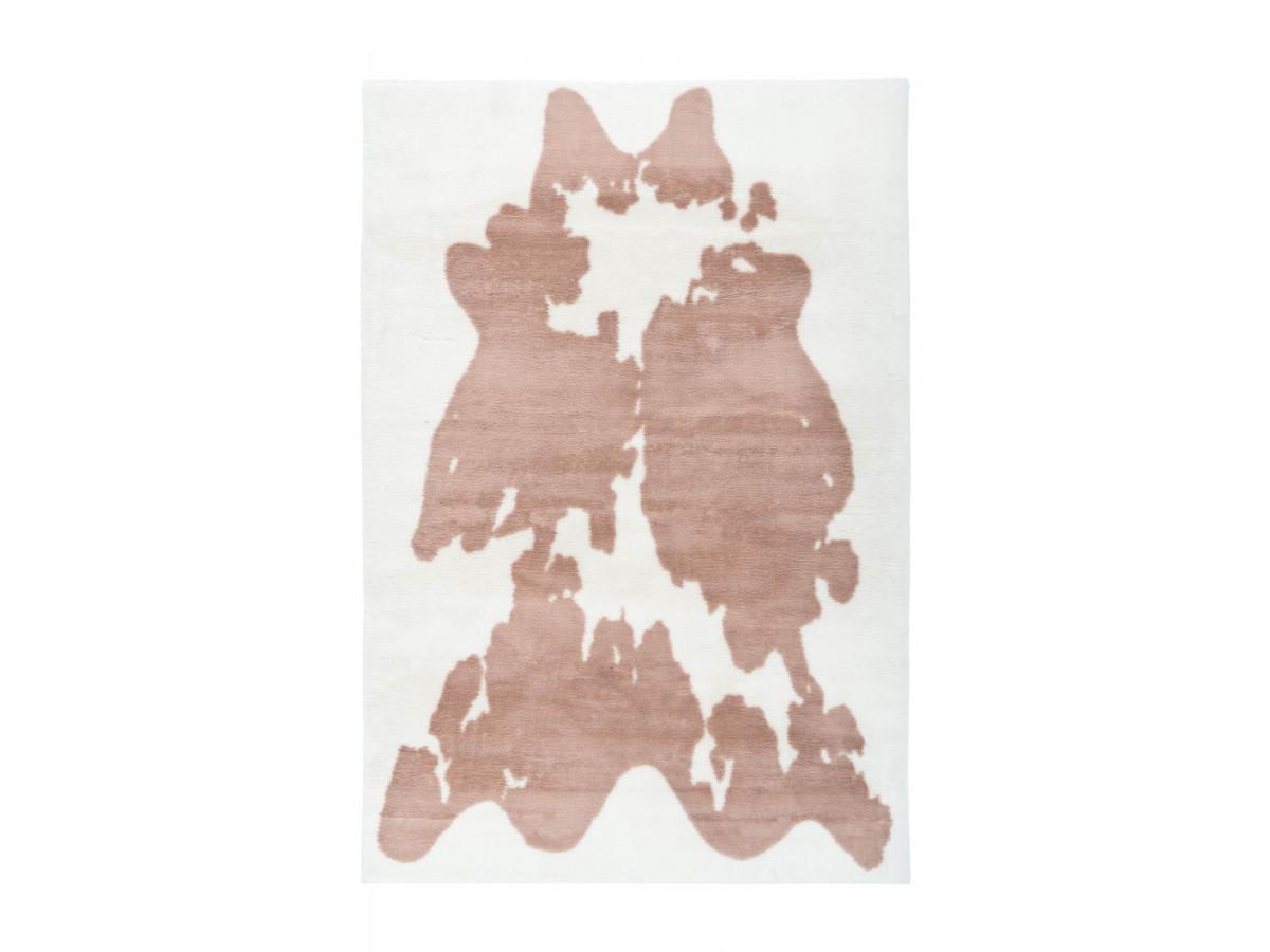 Tapis ZORI Taupe / Blanc 120cm x 160cm