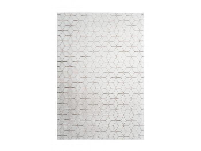 Tapis SIGMA Blanc / Blanc cassé 80cm x 150cm