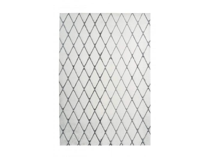 Tapis BETA Blanc / Anthracite 160cm x 230cm