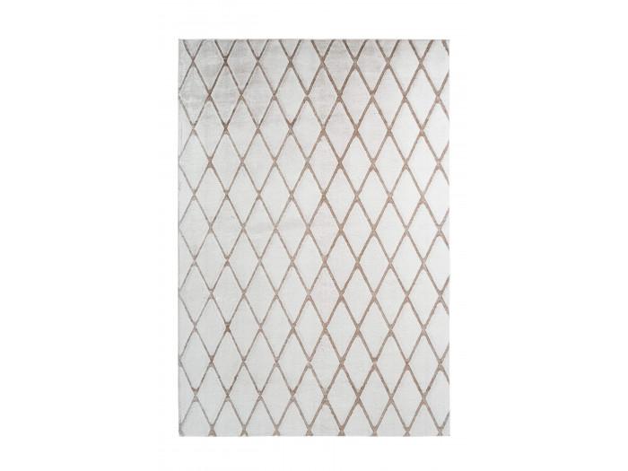 Tapis BETA Blanc / Blanc cassé 160cm x 230cm