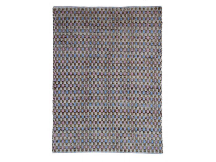 Tapis d'extérieur MALEE Naturel / Rose / Bleu 80cm x 150cm