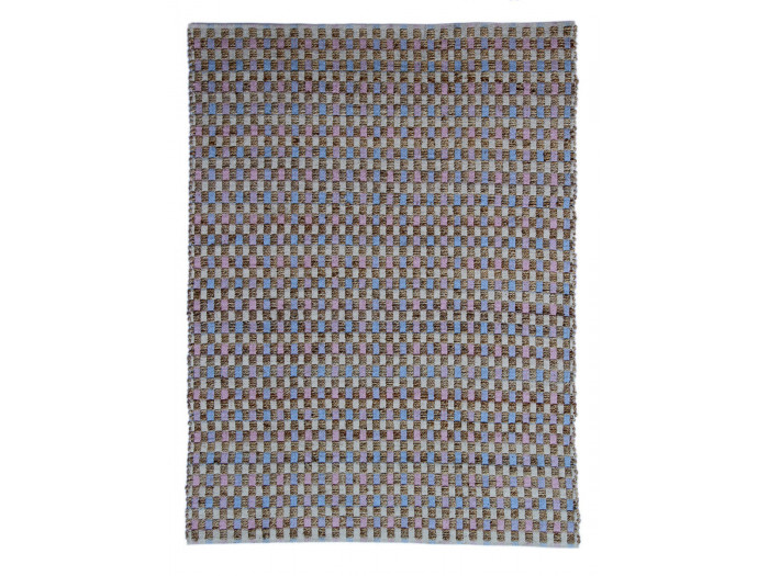Tapis d'extérieur MALEE Naturel / Rose / Bleu 160cm x 230cm