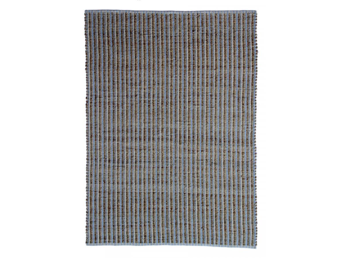 Tapis d'extérieur MALEE Naturel / Bleu / Gris 80cm x 150cm