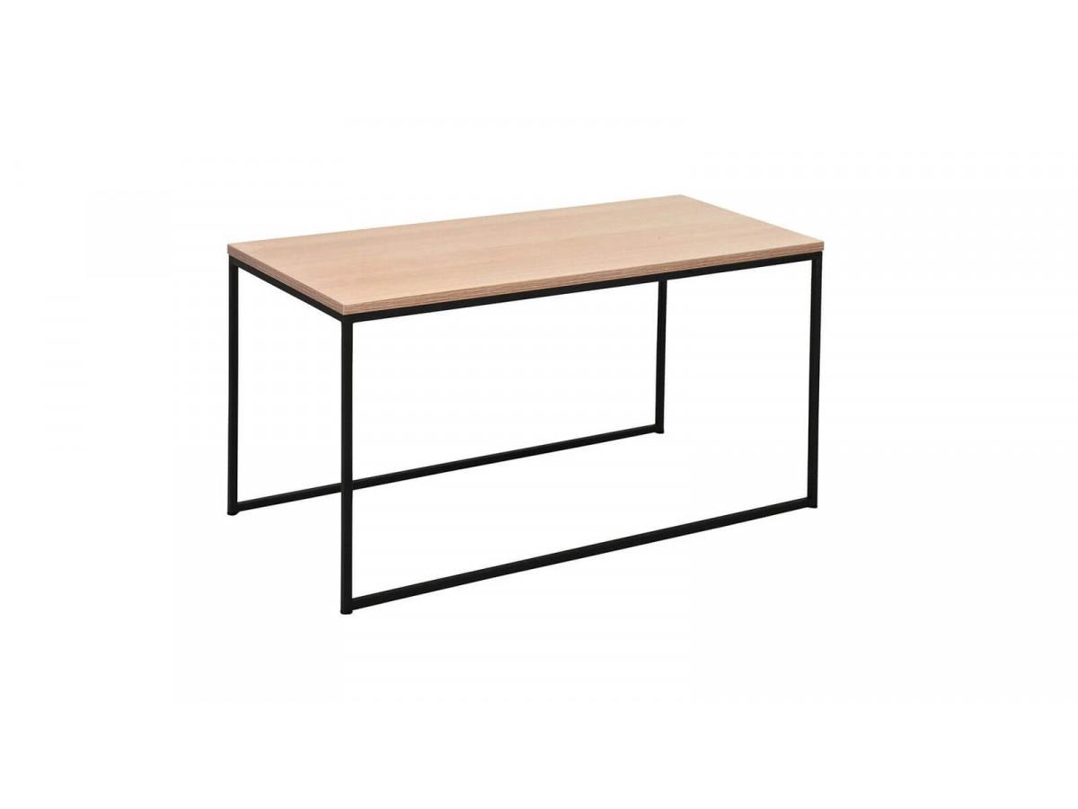 Table basse HIMI Chêne / Noir