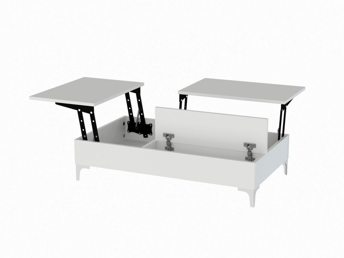 Table basse INDIANA Blanc