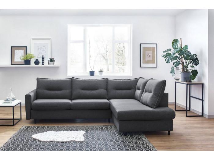 Canapé d'angle L convertible SINKI