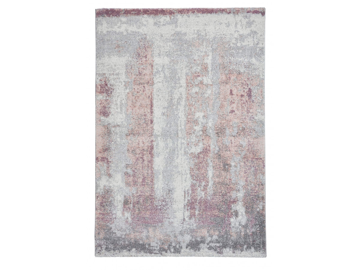 Tapis LONDON Ivoire / Rose 120 x 170