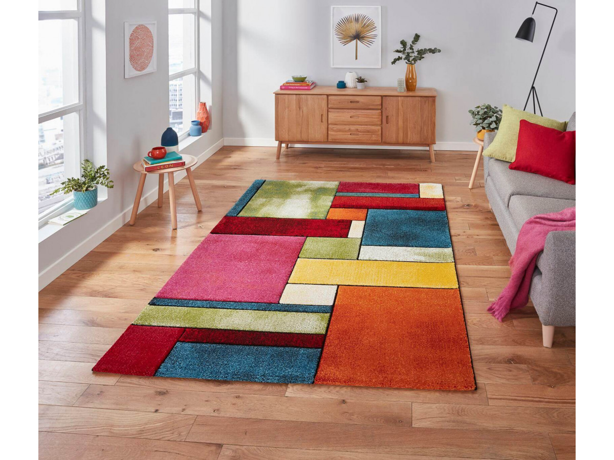 Tapis SUNSET 2 Multicolor 80 x 150