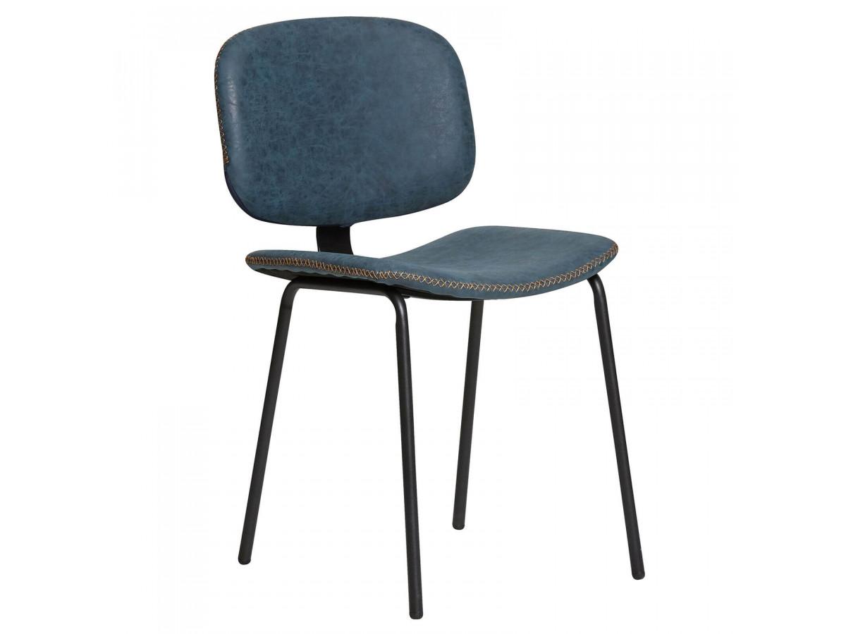Ensemble de 2 chaises LAFIO Bleu
