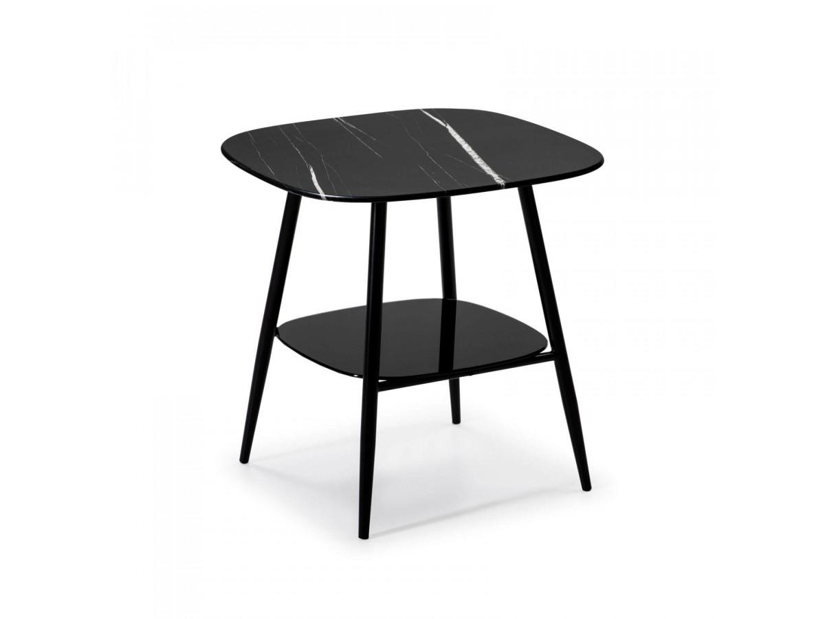 Table d'appoint MONA noir
