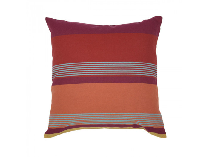 Coussin carre BIDOS Rouge
