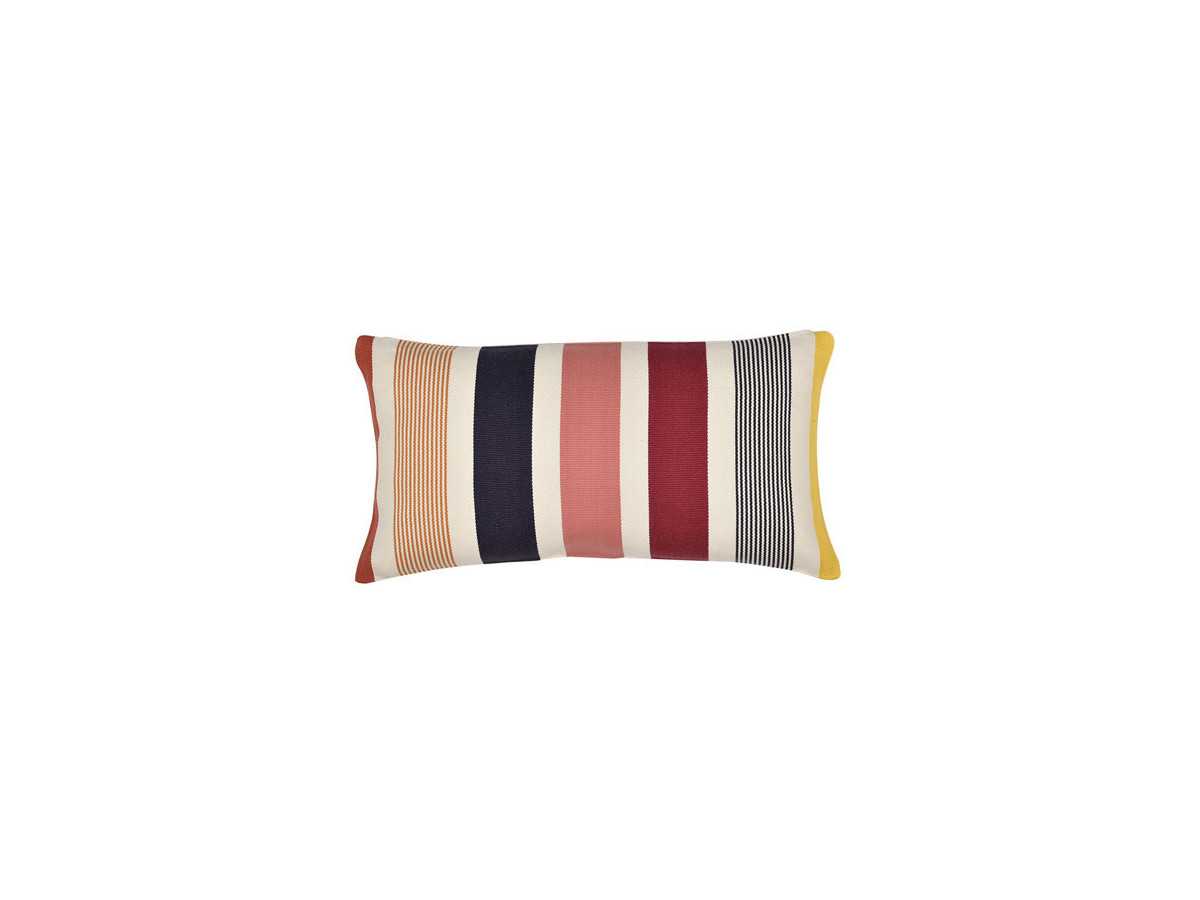 Coussin rectangulaire GARLIN Rouge