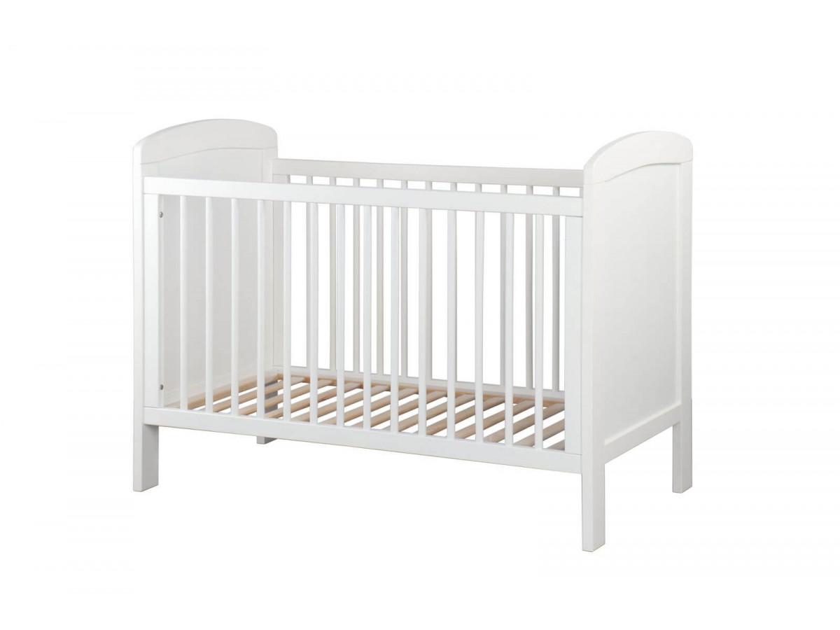 Lit bébé SELMA 60 X 120 cm Blanc
