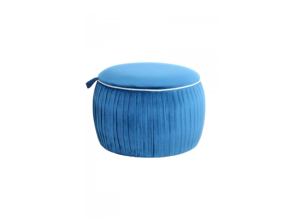 Pouf SILA Bleu