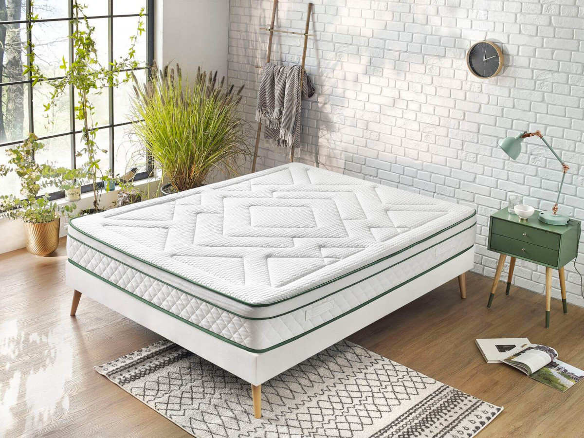 Matelas ARUNA 140x190 100% Latex naturel