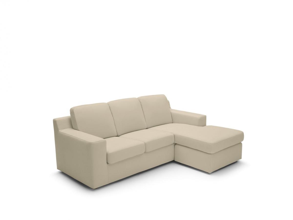 Canapé d'angle réversible fixe Haute Couture FLUIDO