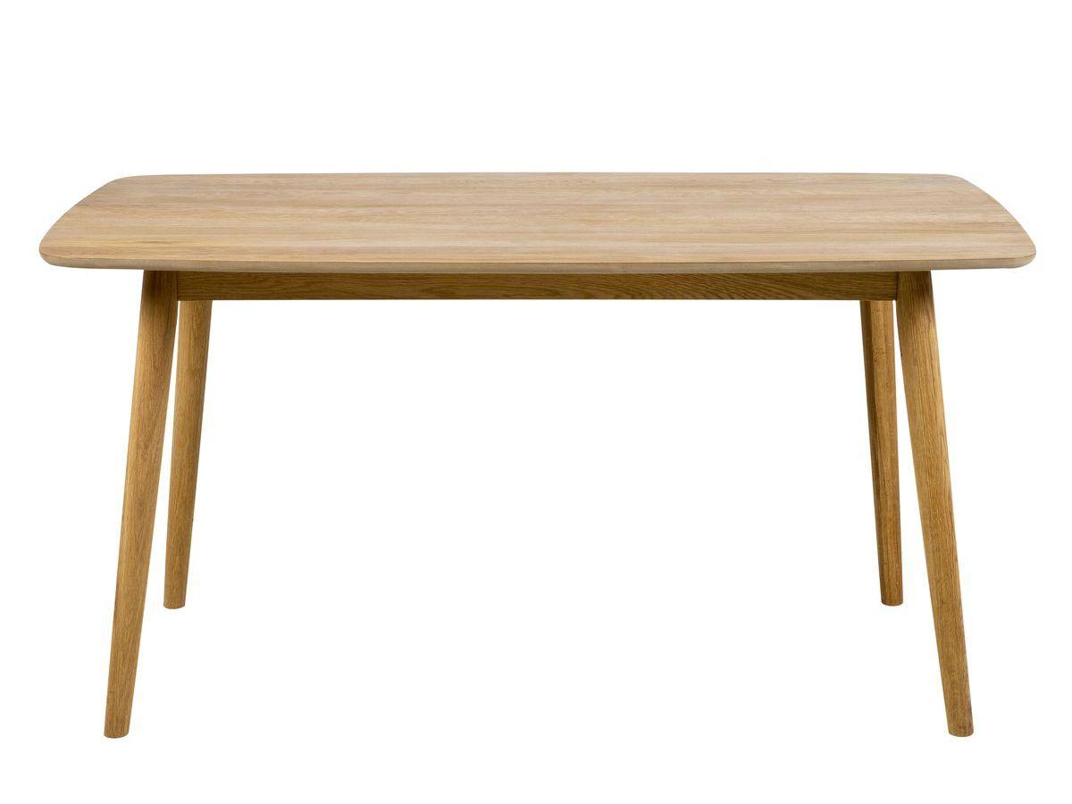 Table à manger 150 cm NAGANE en bois massif