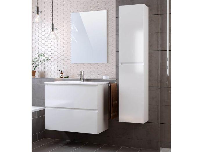 Ensemble salle de bain 80 cm LUANA avec colonne