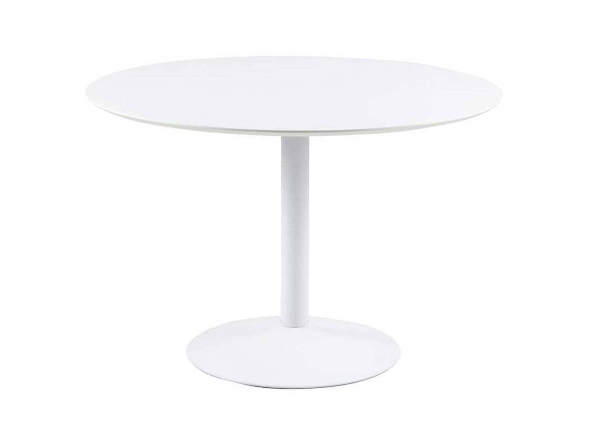 Table à manger 110 cm POCKET Blanc
