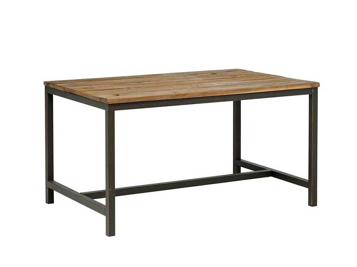 Table à manger 140 cm ROMANTIQUE orme