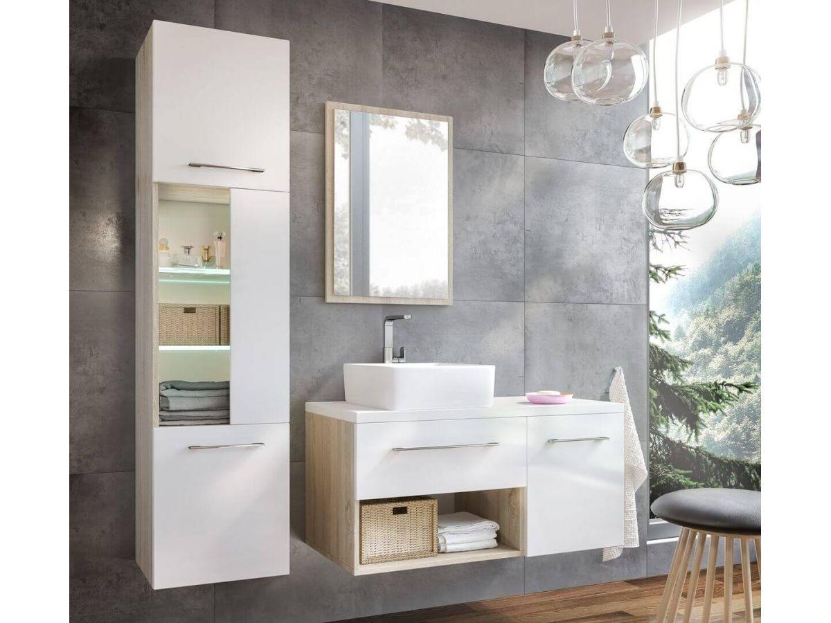 Meuble de salle de bain 100 cm KIERA