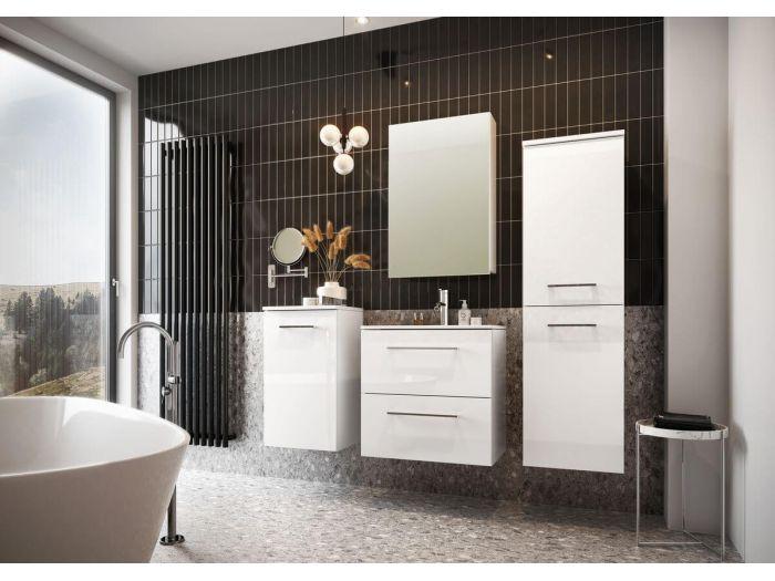 Ensemble de salle de bain 60 cm SELYA et deux colonnes