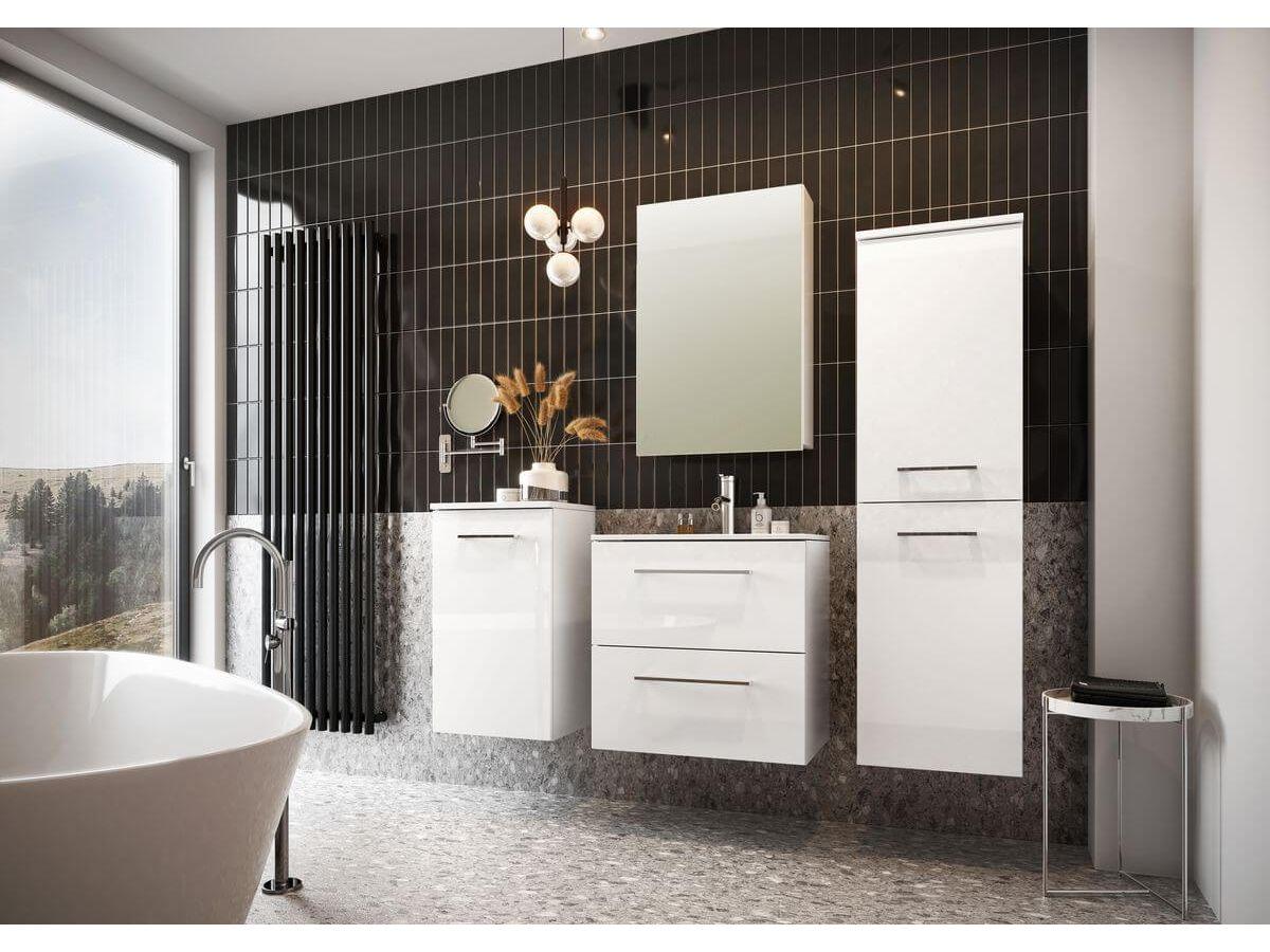 Meuble de salle de bain 60 cm SELYA