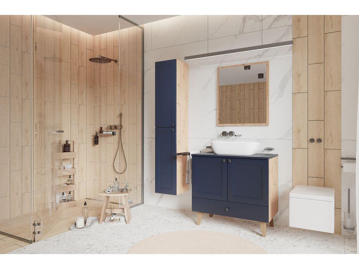 Ensemble de salle de bain 80 cm AZURA et colonne