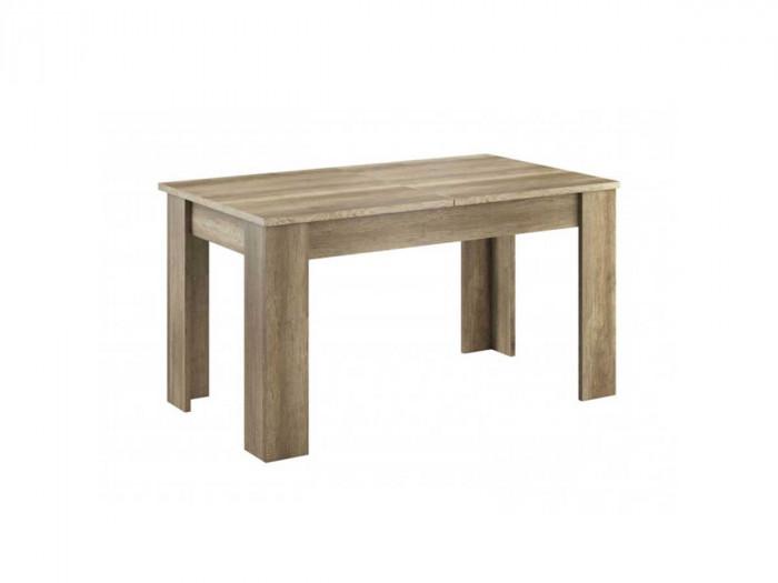 Table extensible 140/180 cm SKYLINE Couleur Bois chêne blanchi