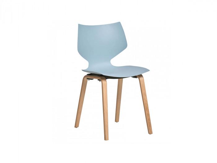 Ensemble de 4 chaises ZOTIO Bleu