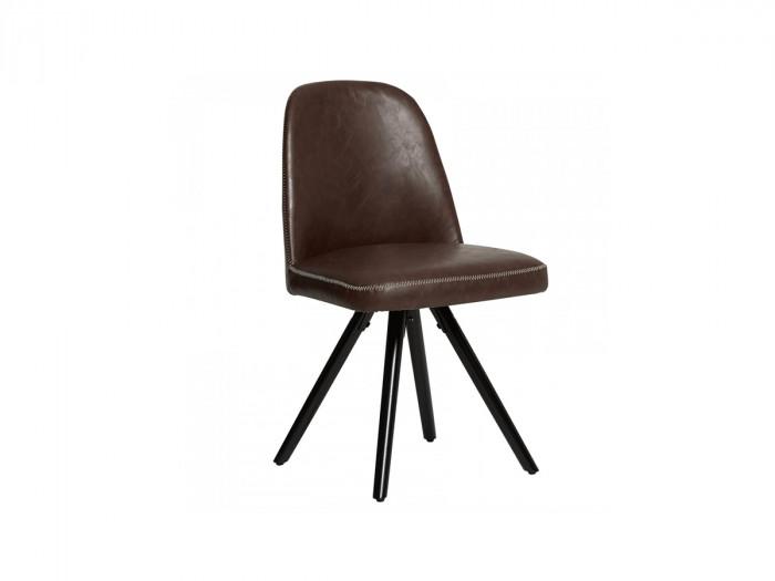 Ensemble de 2 chaises ARMO Marron