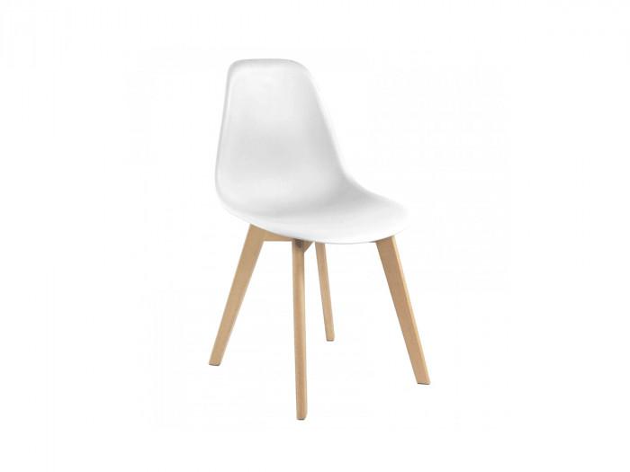 Lot de 4 chaises ENKE Blanc