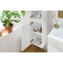 Ensemble de salle de bain meuble 120 cm ALANI avec colonne