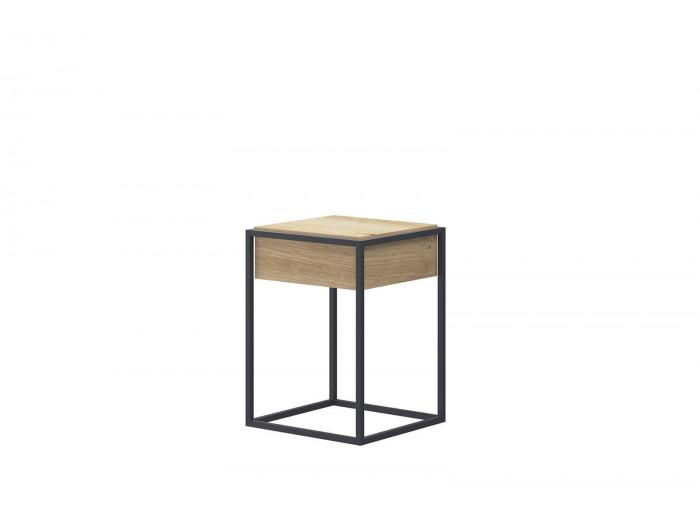 Table basse ENJOY IT 40 Chêne et Noir BOBOCHIC®